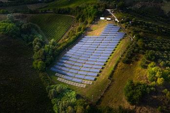 Solar PV farm