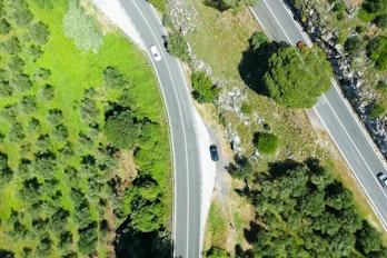 Aerial View Of Norway