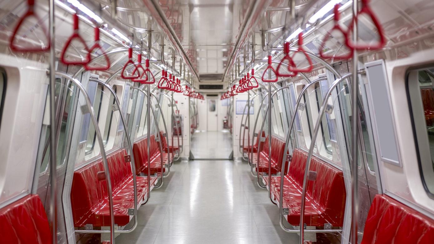 Empty metro