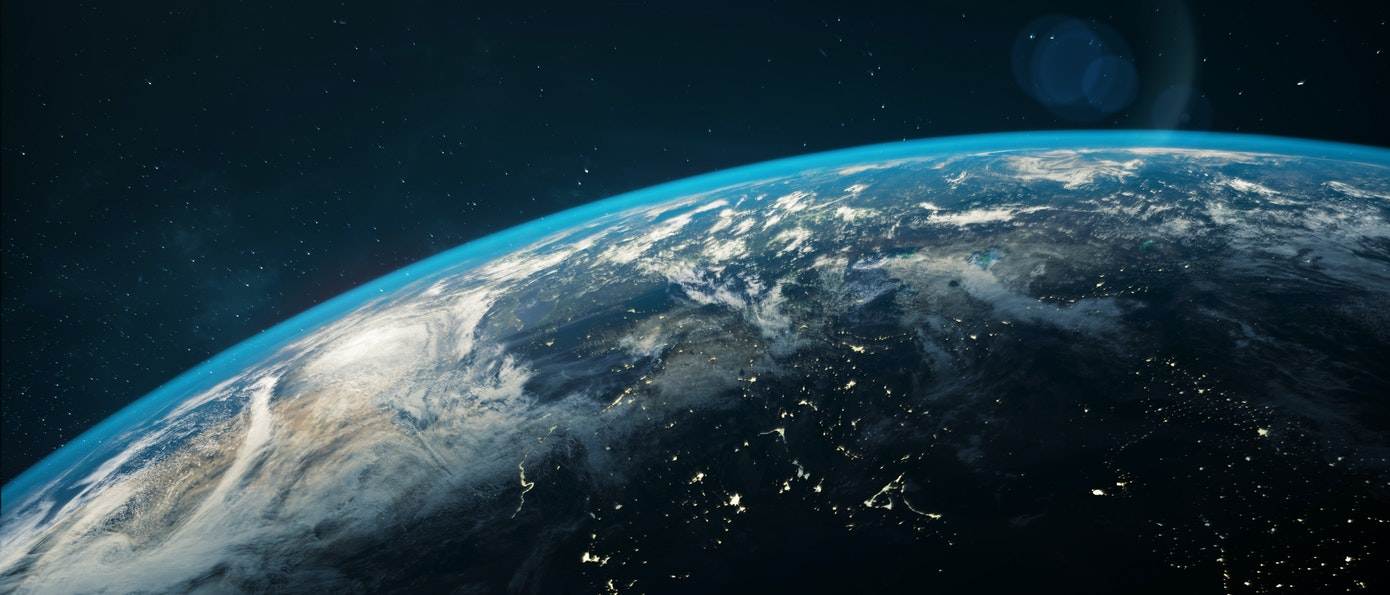 Earth from orbit