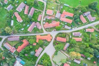 Aerial View Czech Republic