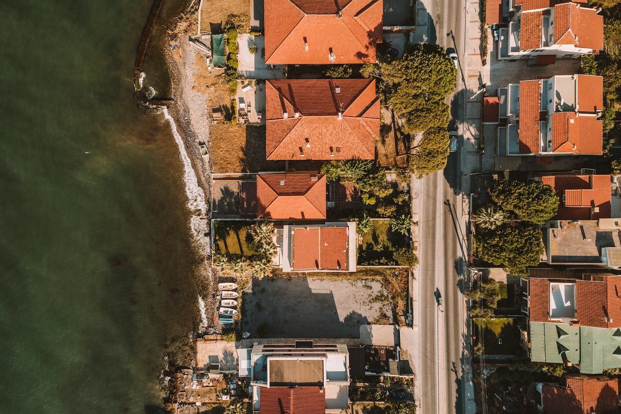 Aerial View Of Izmir Turkey